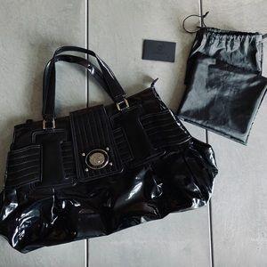 Versace patent leather purse